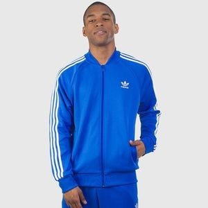 Adidas Superstar 3 Stripe Track Jacket - Sz. L